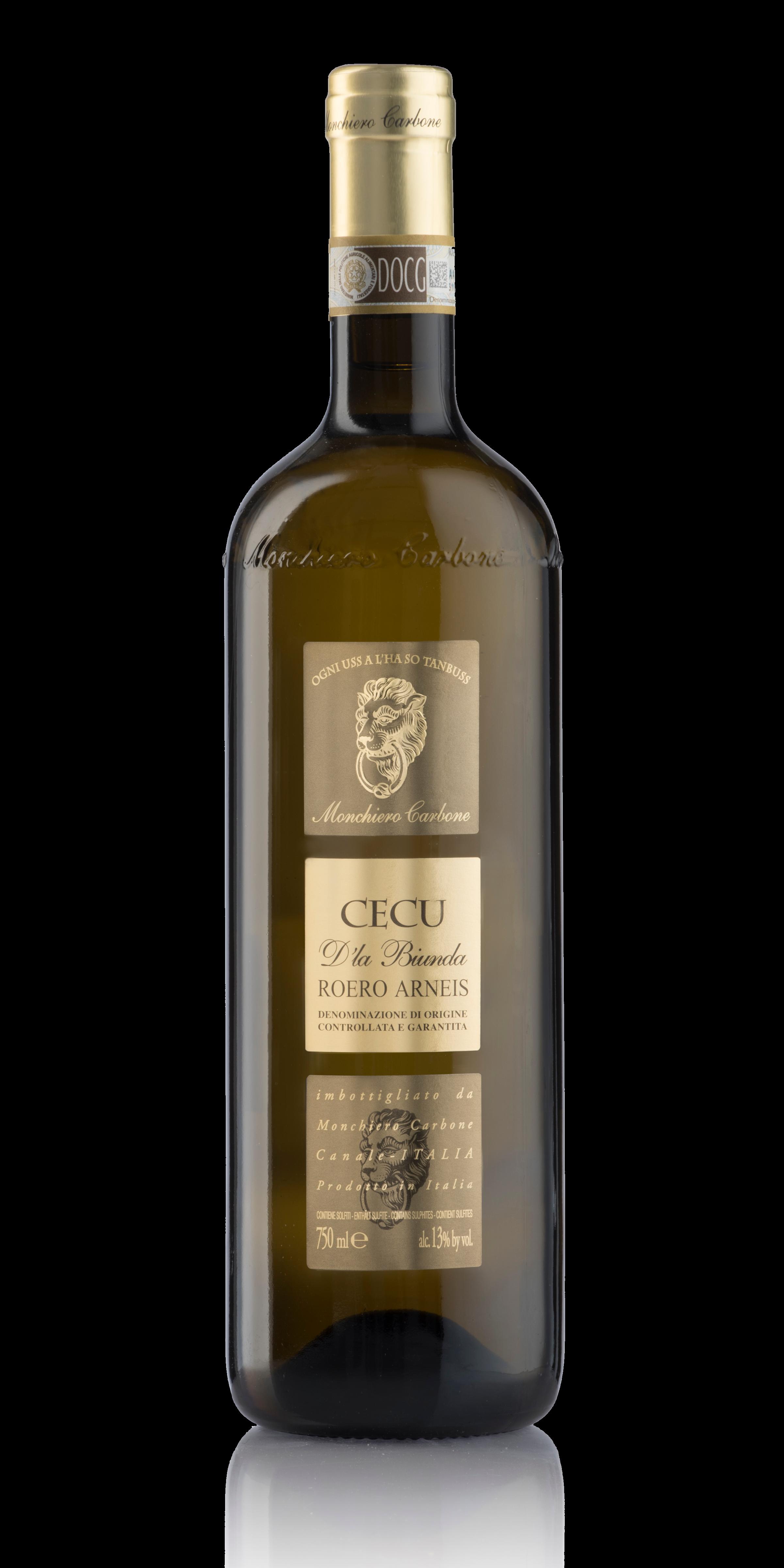 Cecu Roero Arneis bottle