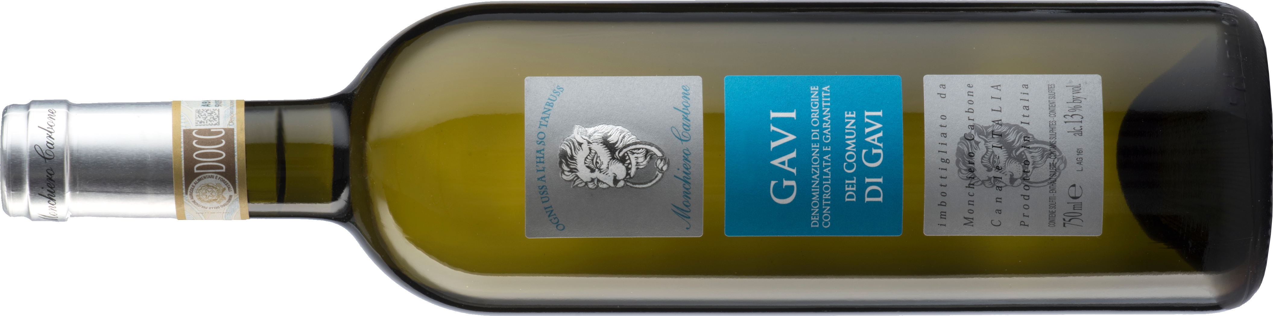 Gavi lying down bottle
