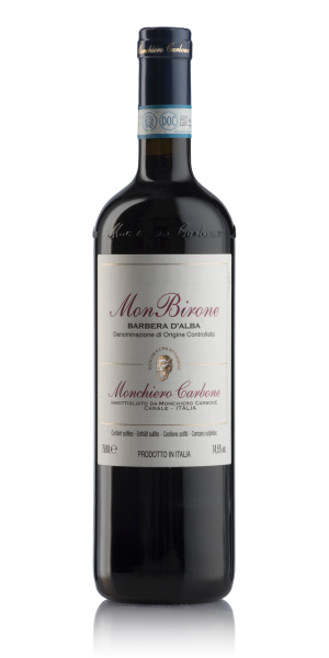 MonBirone Barbera d'Alba bottle