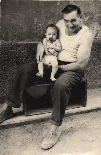 Grandfather Cecu and Francesco